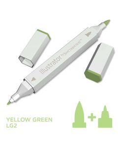 Illustrator by Spectrum Noir Single Pen - Yellow Green