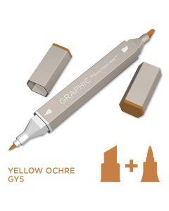 Graphic by Spectrum Noir Single Pens - Yellow Ochre