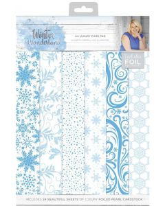 Sara Signature Winter Wonderland - A4 Luxury Foiled Pad