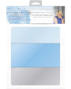 Sara Signature Winter Wonderland - Luxury Matt Mirror Card