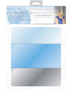 Sara Signature Winter Wonderland - Luxury Mirror Card
