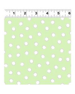 Clothworks Guess How Much I Love You - Pom Pom - Green