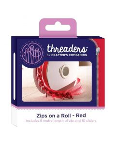 Zips on a Roll - Red thumb