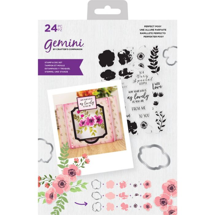 Gemini Layering Stamp and Die - Perfect Posy
